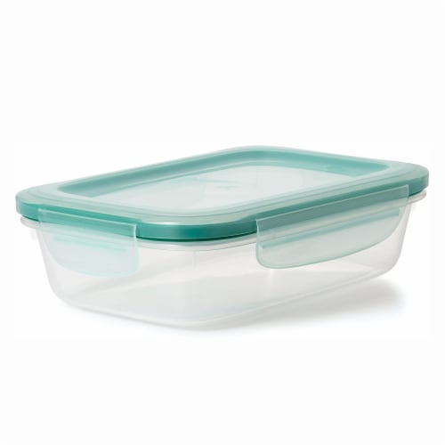 OXO Good Grips 30 Piece Food Storage Container Set with Matching Lids, Clear Perspective: left