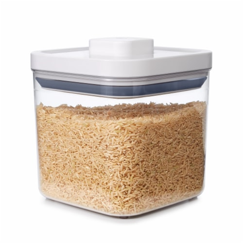 Softworks Big Square Pantry Food Storage Container Perspective: left