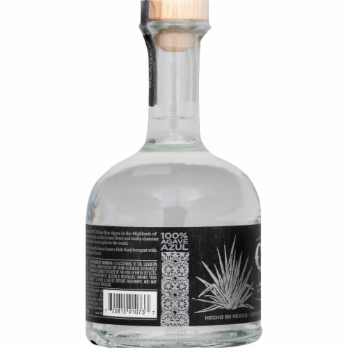 Cabo Wabo Tequila Blanco Perspective: left