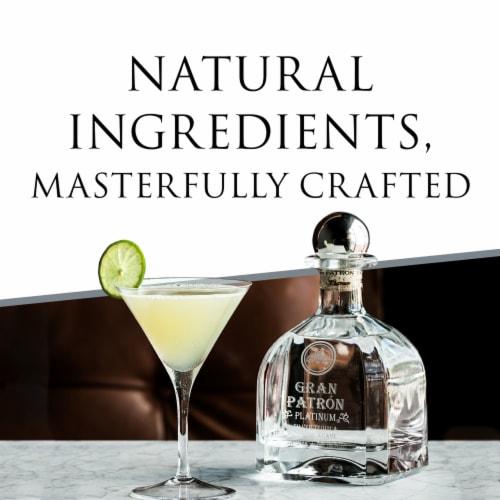 Gran Patron Platinum Silver Tequila Perspective: left