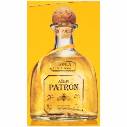 Patron Anejo Tequila Perspective: left
