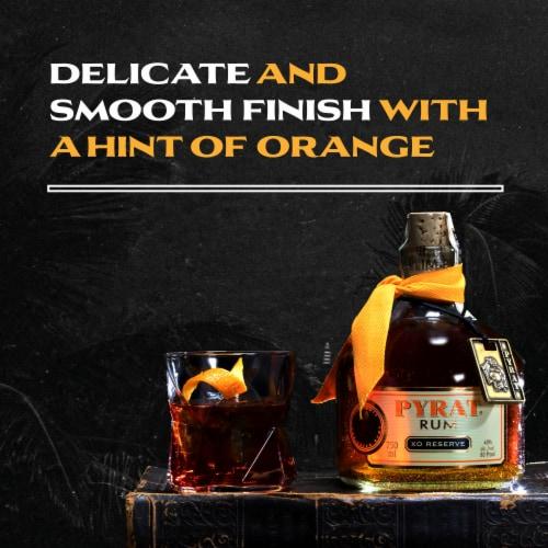 Pyrat XO Reserve Rum Perspective: left