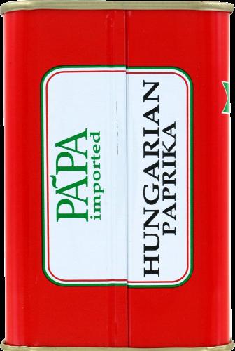 Papa Hungarian Paprika Perspective: left