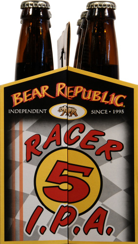 Bear Republic Racer5 IPA India Pale Ale Perspective: left