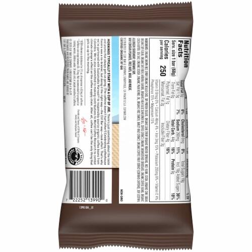 Clif Bar Coffee Collection Dark Chocolate Mocha Energy Bar Perspective: left