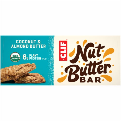 Clif Bar Nut Butter Filled Coconut & Almond Butter Energy Bars Perspective: left