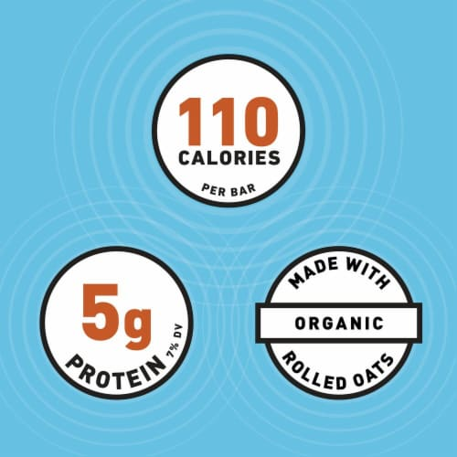 Clif Bar Minis Crunchy Peanut Butter Energy Bars Perspective: left