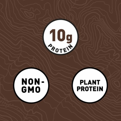 Clif Bar Chocolate Brownie Energy Bars Perspective: left
