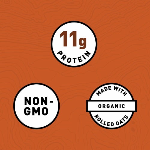 Clif Crunchy Peanut Butter Energy Bars 6 Count Perspective: left
