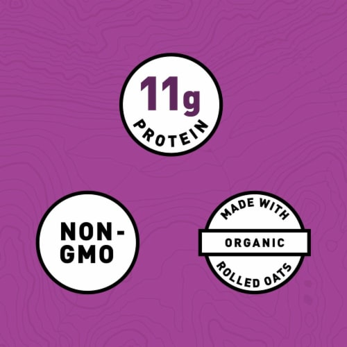 Clif Bar Chocolate Chip Peanut Crunch Energy Bars Perspective: left