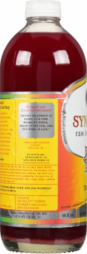 GT's Living Foods Synergy Organic Trilogy Kombucha Perspective: left