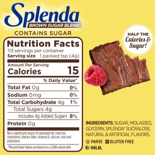 Splenda Brown Sugar Blend Perspective: left