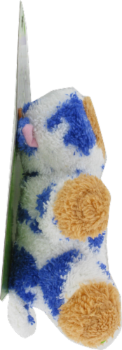 Booda Softies Cow Dog Toy Perspective: left