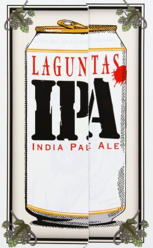 Lagunitas IPA Beer Perspective: left