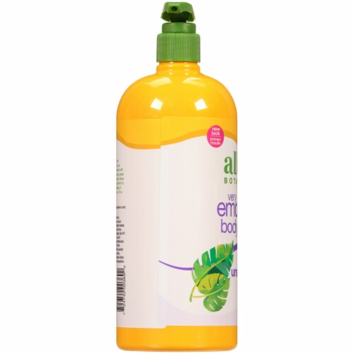 Alba Botanica Very Emollient Unscented Body Lotion Perspective: left