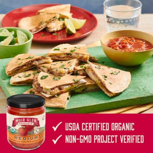 Muir Glen Organic Medium Salsa Perspective: left