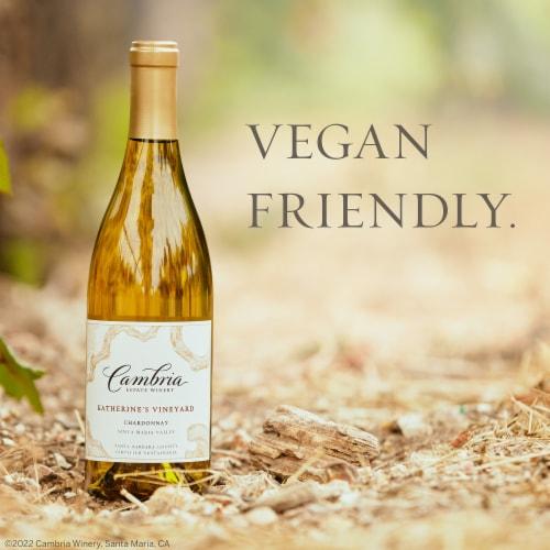 Cambria Katherine's Vineyard Chardonnay White Wine Perspective: left