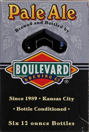 Boulevard Brewing Co. Pale Ale Perspective: left