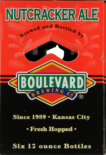 Boulevard Brewing Co. Nut Cracker Ale Perspective: left