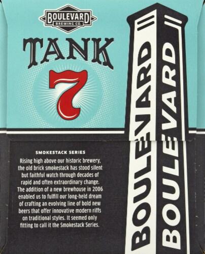 Boulevard Brewing Co. Tank 7 American Saison Ale Perspective: left