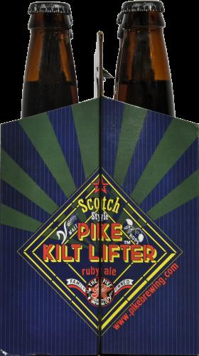 Pike Pub & Brewery Kilt Lifter Scotch Ale Perspective: left