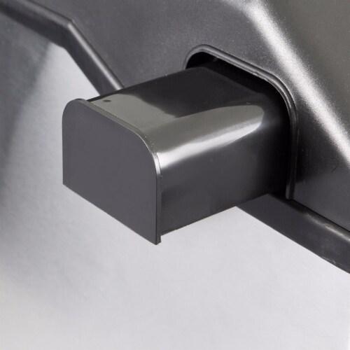 2-in-1 Water Dispenser with Built-In Ice Maker Machine Countertop Perspective: left