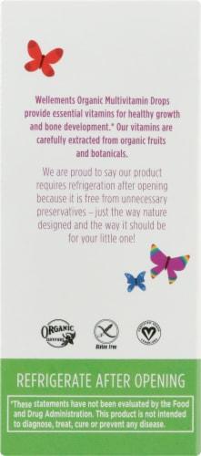 Wellements Organic Multi-Vitamin Cherry Flavor Drops Perspective: left