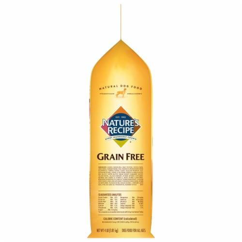 Nature's Recipe® Grain Free Salmon Sweet Potato & Pumpkin Dry Dog Food Perspective: left