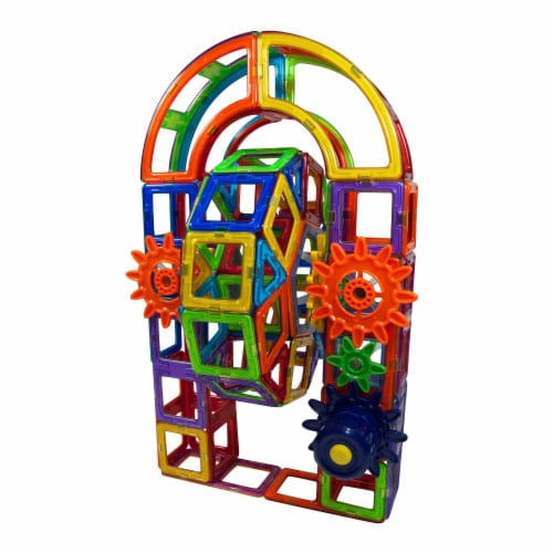 MAGFORMERS® Magnets in Motion Power Set Perspective: left