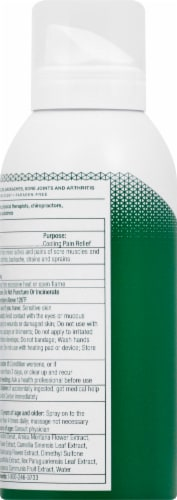 Biofreeze Cold Therapy Pain Relief Spray Perspective: left