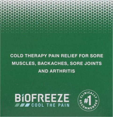 Biofreeze Pain Relieving Cream Perspective: left