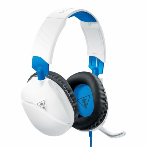 Turtle Beach PS4 Ear Force Recon 70 Wired Gaming Headset - White Perspective: left