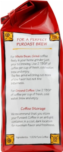 Puroast Coffee House Blend Decaf Perspective: left
