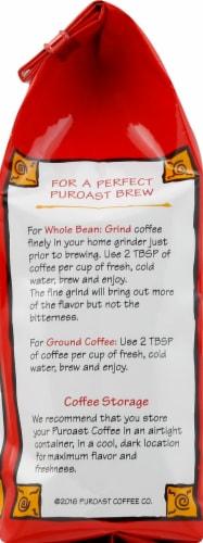 Puroast Low-Acid House Blend Ground Coffee Perspective: left