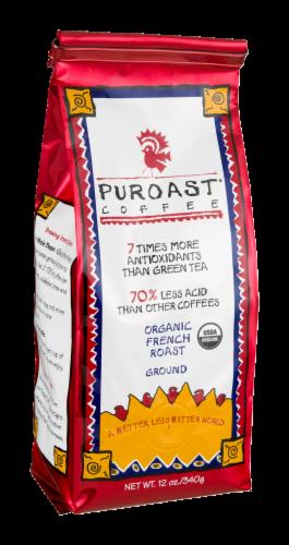 Puroast Coffee Organic Dark French Roast Coffee Perspective: left