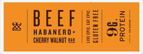 EPIC Habanero + Cherry Walnut Beef Bars Perspective: left