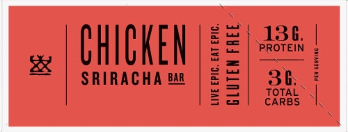 EPIC Chicken Sriracha Bars Perspective: left