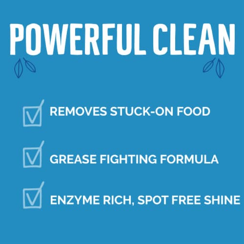 Seventh Generation Free & Clear Dishwasher Detergent Powder Perspective: left