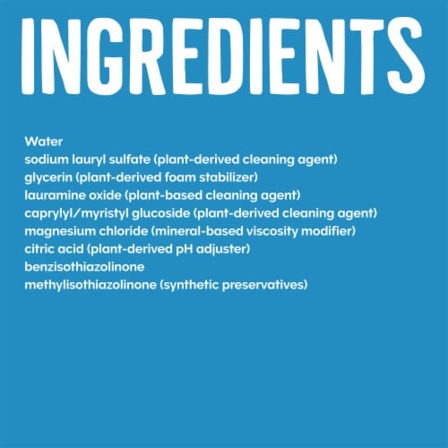 Seventh Generation™ Free & Clear Dish Liquid Soap Perspective: left
