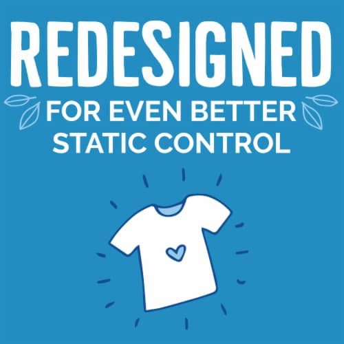 Seventh Generation Free & Clear Natural Fabric Softener Sheets Perspective: left