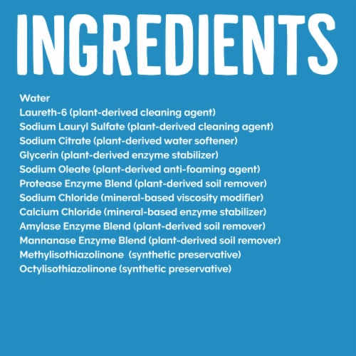 Seventh Generation Free & Clear Concentrated Laundry Detergent Perspective: left