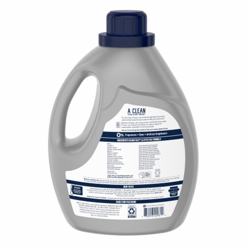 Seventh Generation® Ultra Power Plus Free & Clear Scent Liquid Laundry Detergent Perspective: left