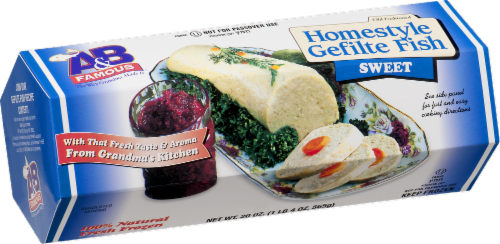 A&B Famous Homestyle Sweet Gefilte Fish Perspective: left