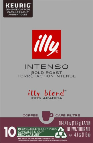 Illy Intenso Bold Roast K-Cup Pods Perspective: left