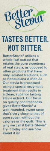 NOW Foods  BetterStevia™ Zero Calorie Sweetener   Original Perspective: left