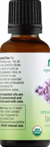 NOW Foods  Organic Essential Oils Lavender Perspective: left
