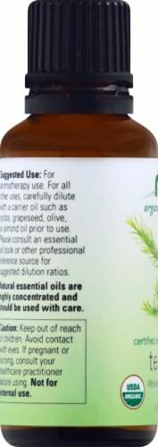 NOW Foods  Organic Essential Oils Tea Tree Perspective: left
