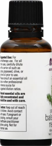 Now Essential Oils Balsam Fir Needle Oil Perspective: left