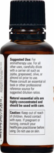 NOW Foods Cinnamon Cassia Essential Oils Perspective: left