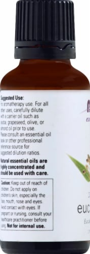 NOW Foods  Essential Oils Eucalyptus Perspective: left